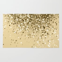 Cali Summer Vibes Lady Glitter #1 #shiny #decor #art #society6 Rug