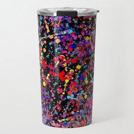 Drip Art Travel Mug