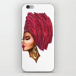 African Queen iPhone Skin