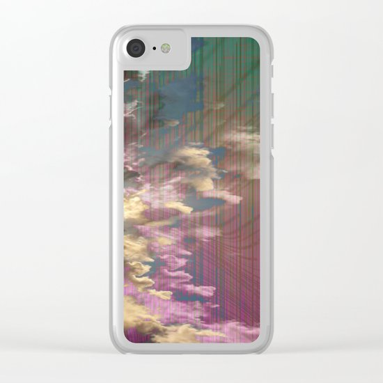 Spatial Factor 303 / Texture 02-11-16 Clear iPhone Case