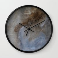 imagerybydianna Wall Clocks featuring from stories of old by Imagery by dianna