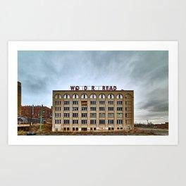 Abandoned Bread Factory Art Print