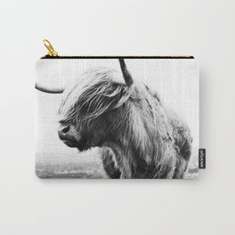 Highland Cow Art Carry-All Pouch