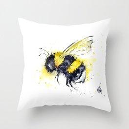 Bumble Bee - Buzz Throw Pillow