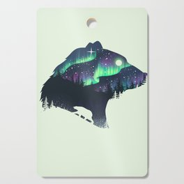 Northern Lights Cutting Board