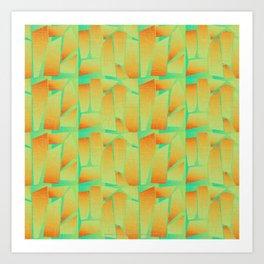 Retropolitan Three Art Print
