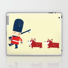 Her Majesty's guards Laptop & iPad Skin