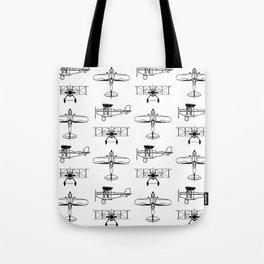 Biplanes Tote Bag
