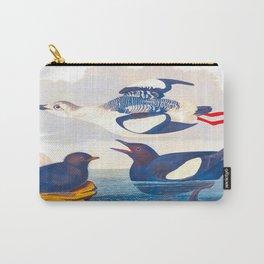 Black Guillemot Duck Carry-All Pouch