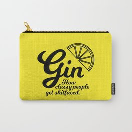 Gin. How classy people get shitfaced – Lemon Carry-All Pouch