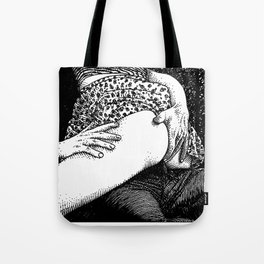 asc 665 - Les rendez-vous du crépuscule (Visitors in the twilight) #04 Tote Bag