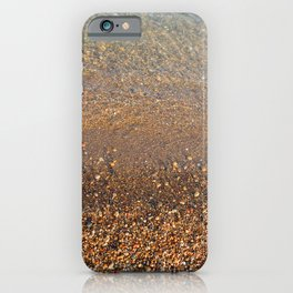 Lake Michigan Water's Edge iPhone Case