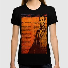 Abraham Lincoln and the Gettysburg Address T-shirt