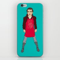 murray iPhone & iPod Skins featuring Grill Murray  by Chelsea Herrick