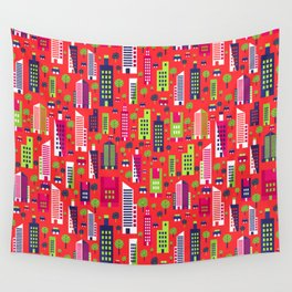 City of Colors Wall Tapestry