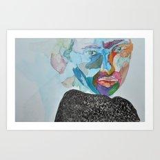 i used to  Art Print