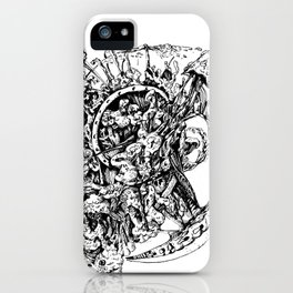 Chaos explosion iPhone Case