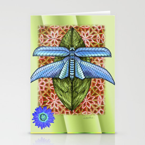 Dragonfly to Your Dreams Stationery Cards