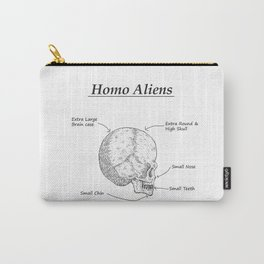 Homo Aliens Carry-All Pouch