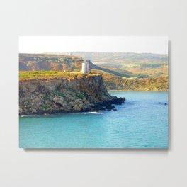 Tower- Malta Metal Print