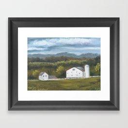 100/100 Framed Art Print