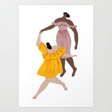 Apiece Apart Dance Art Print