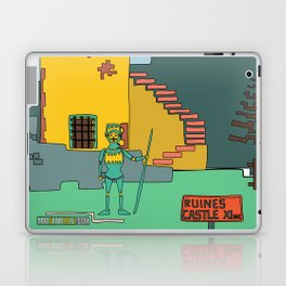 Afternoon at the Medieval Age (a) Laptop & iPad Skin