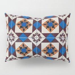 Portuguese tile pattern Pillow Sham
