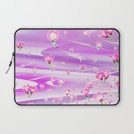 Fairy Sky River Spring Flower Laptop Sleeve