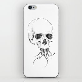 Skull with Tentacles iPhone Skin
