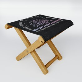 Were goin' home Folding Stool