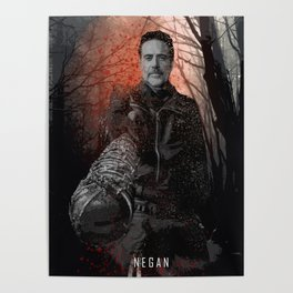 Negan - The Walking Dead Poster