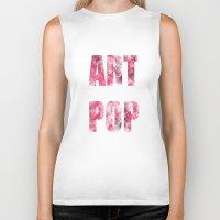 artpop Biker Tanks featuring ARTPOP by SAMMO