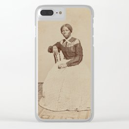 Harriet Tubman Vintage Photograph Clear iPhone Case