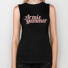 Armie Hammer Biker Tank