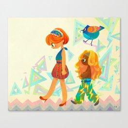 High-waist Canvas Print