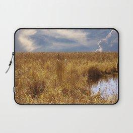 landscape 002: golden slumbers, big sky Laptop Sleeve
