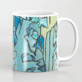The Shoreline Ocean Abstract Fine Art Coffee Mug