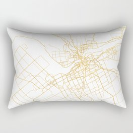 OTTAWA CANADA CITY STREET MAP ART Rectangular Pillow