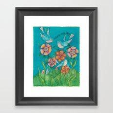 Little Things Framed Art Print