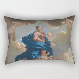 Poussin -the assumption of the virgin Rectangular Pillow