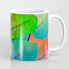 Translucent Leaves Coffee Mug