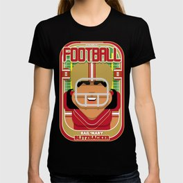 American Football Red and Gold - Hail-Mary Blitzsacker - Indie version T-shirt