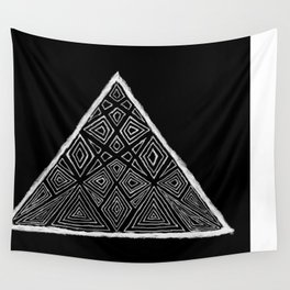 Root Two Triangle  Wall Tapestry