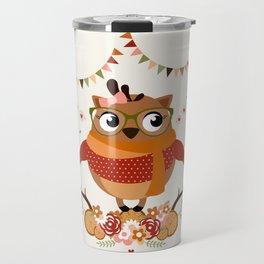 Chouette automnale Travel Mug