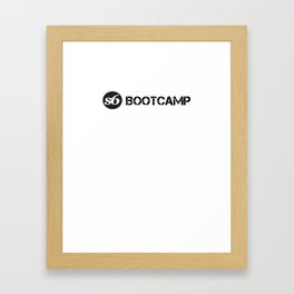S6 Bootcamp Framed Art Print