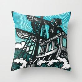 Sir Patrick Spens Throw Pillow