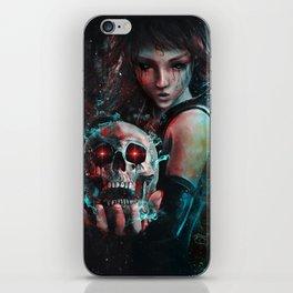 Skull Mage Dark Fantasy Original Character Painting iPhone Skin