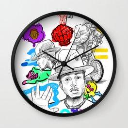 Pharrell's Culture Wall Clock