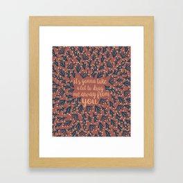 Africa - Vintage Palette Framed Art Print